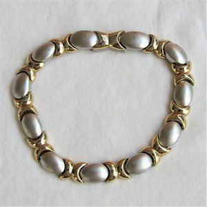 3 FOR $25 Silver Gold Tone Bracelet Magnetic Clasp